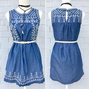 Romeo + Juliet Couture Denim Dress S